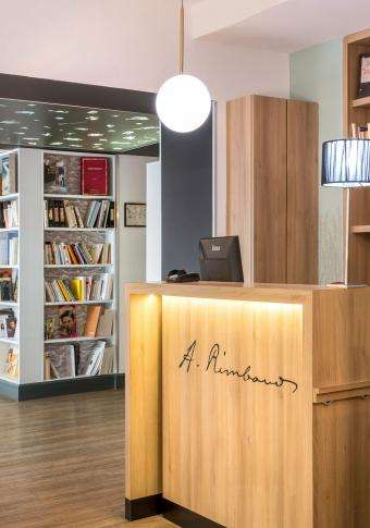 Best Western Hôtel Littéraire Arthur Rimbaud - Reception